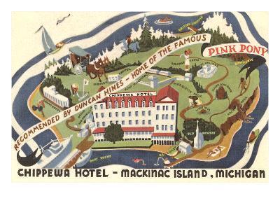 Chippewa Hotel, Mackinac Island, Michigan