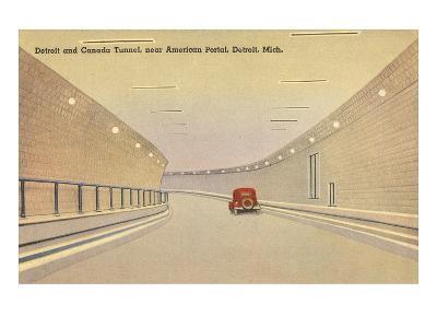 Detroit and Canada Tunnel, Detroit, Michigan