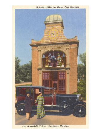1914 Daimler, Greenfield Village, Dearborn, Michigan