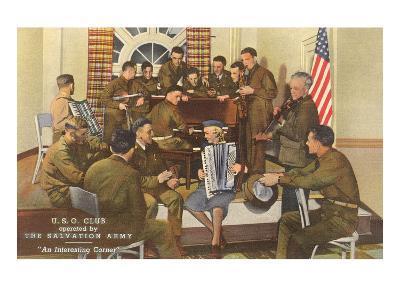 Salvation Army, USO Club