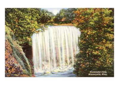 Minnehaha Falls, Minneapolis, Minnesota
