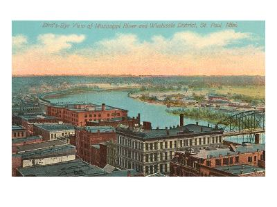 Mississippi River, St. Paul, Minnesota