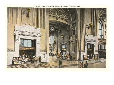 Lobby, Union Station, Kansas City, Missouri