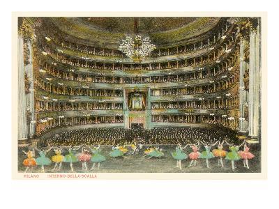 La Scala Opera House, Milan, Italy