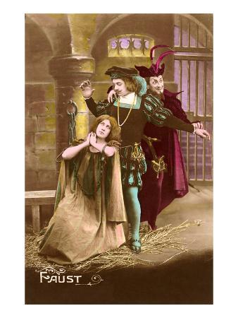 Scene from Faust