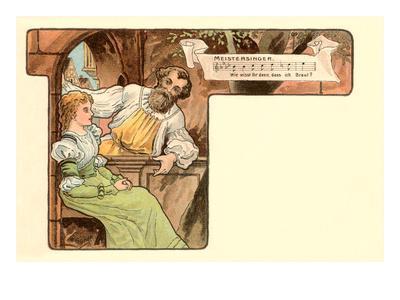 Scene from Die Meistersinger