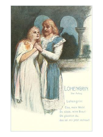 Scene from Lohengrin