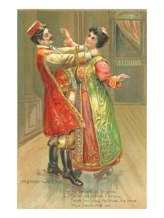 Scene from the Merry Widow