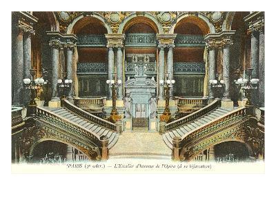 Interior, Paris Opera House, France