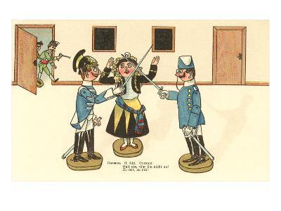 German Rendition of Carmen with Toy Figures