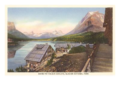 Going-to-the-Sun Chalets, Glacier Park, Montana