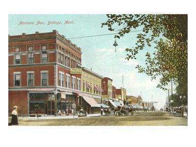 Montana Avenue, Billings, Montana