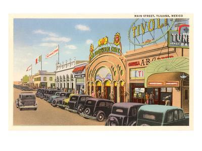 Main Street, Tijuana, Mexico