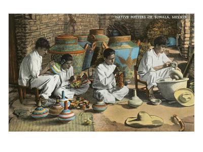Potters of Tonala, Mexico