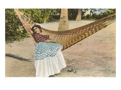 Woman in Hammock, Tehuantepec, Mexico