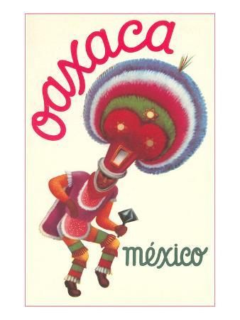 Poster for Oaxaca, Mexico, Folkloric Dancer