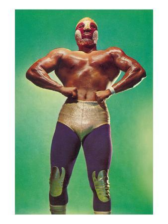 Mexican Wrestler Body Builder