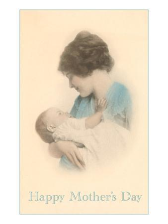 Happy Mothers Day, Mother with Baby