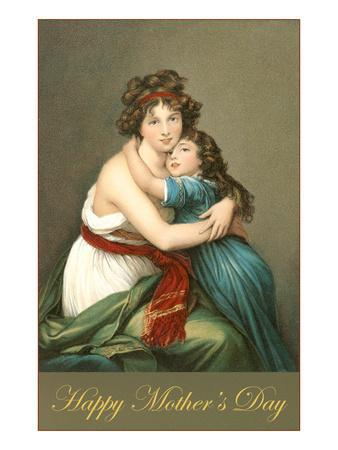 Happy Mothers Day, Grecian Mother and Child