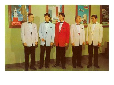 Men Modeling Tuxedos