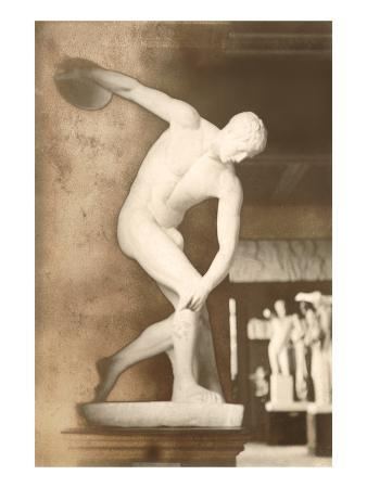 The Discus Thrower Statue