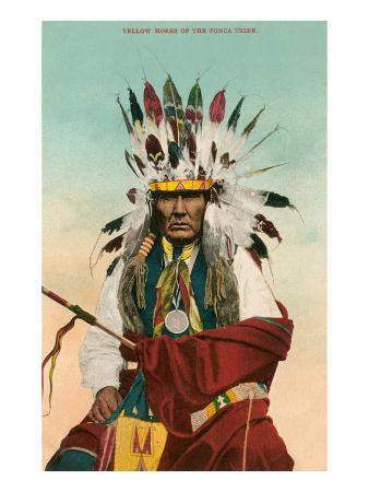 Yellow Horse, Ponca Indian