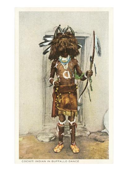 Cochiti Pueblo Indian In Buffalo Dance Posters At