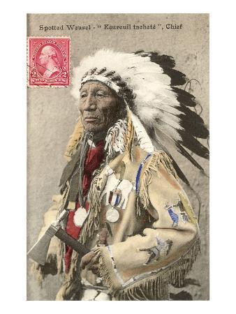 Spotted Weasel, Ecureuil Tachete, Plains Chief