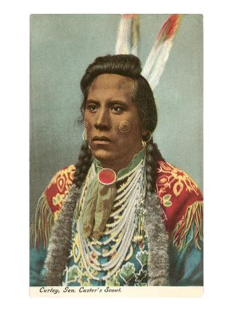 Curley, Crow Indian, General Custer's Scout