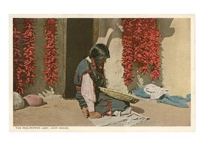 Hopi Red Pepper Lady