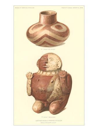Ceramics from Mississippi Valley