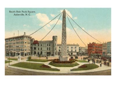 Obelisk in Town Square, Asheville, North Carolina