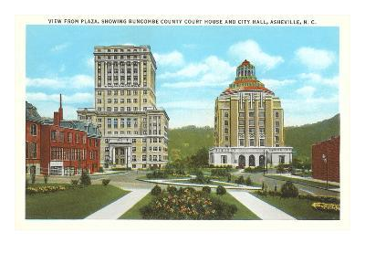Courthouse, City Hall, Asheville, North Carolina