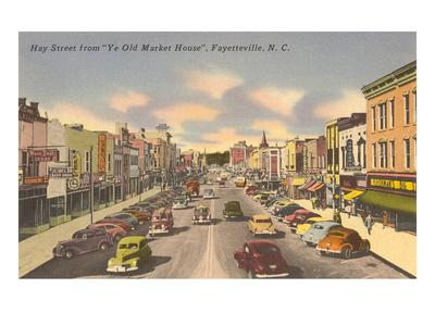 Hay Street, Fayetteville, North Carolina
