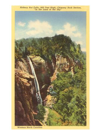 Hickory Nut Falls, Western North Carolina