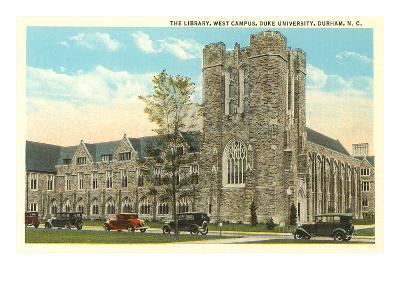 Library, Duke University, Durham, North Carolina