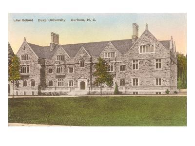 Law School, Duke University, North Carolina