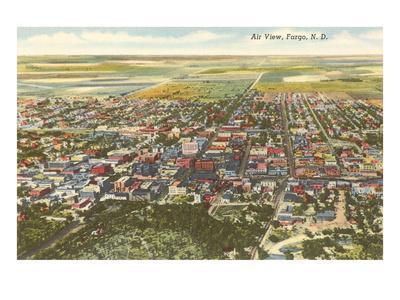 Aerial View, Fargo, North Dakota