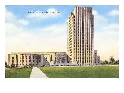 State Capitol, Bismarck, North Dakota