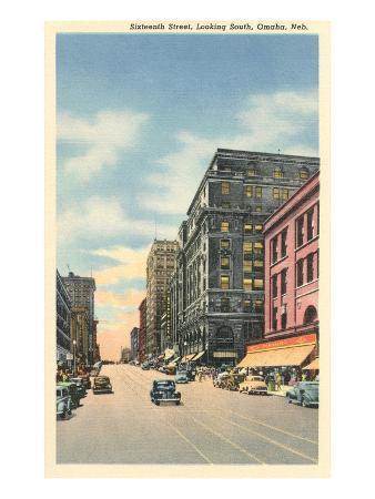Downtown, 16th Street, Omaha, Nebraska
