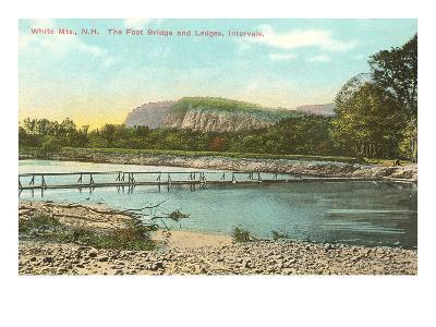 Foot Bridge, White Mountains, New Hampshire