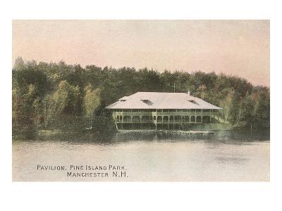 Pavilion, Pine Island, Manchester, New Hampshire