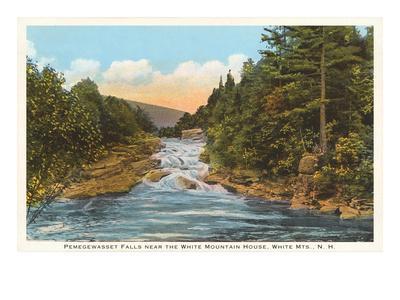 Pemegewasset Falls, White Mountains, New Hampshire