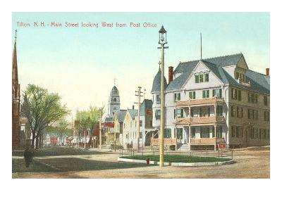 Main Street, Tilton, New Hampshire