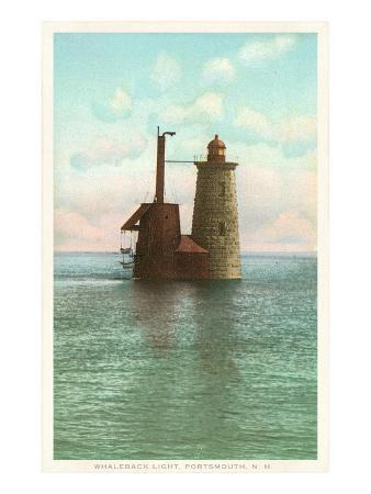 Whaleback Lighthouse, Portsmouth, New Hampshire