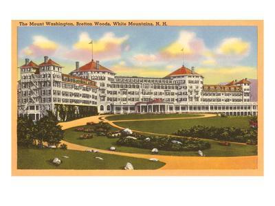 Mt. Washington Hotel, White Mountains, New Hampshire