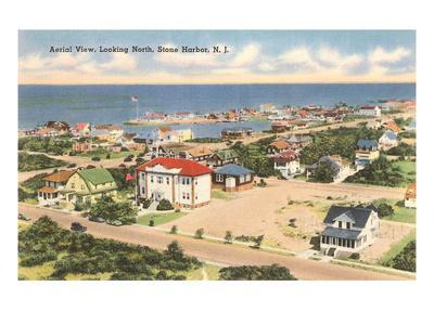 View over Stone Harbor, New Jersey