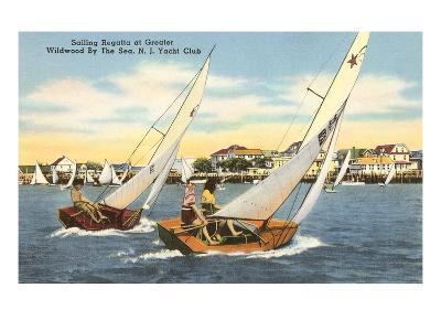 Sailing Regatta, Wildwood-by-the-Sea, New Jersey