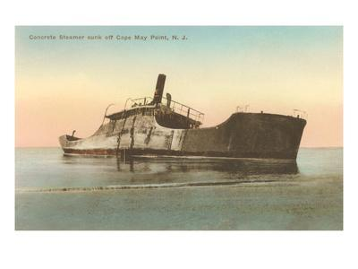 Beached Steamer, Cape May, New Jersey