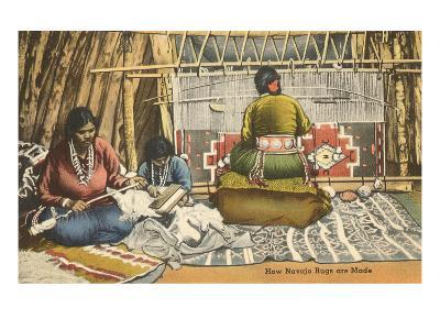Navajo Rug Weavers, New Mexico